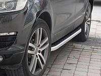 Пороги боковые Allyans на Audi Q7