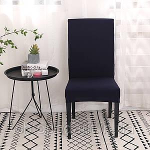 Чехол на стулья универсальный для мебели цвет черный  Код 14-0719