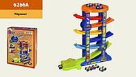 Детский игровой набор паркинг Крокодил, 6 уровней.