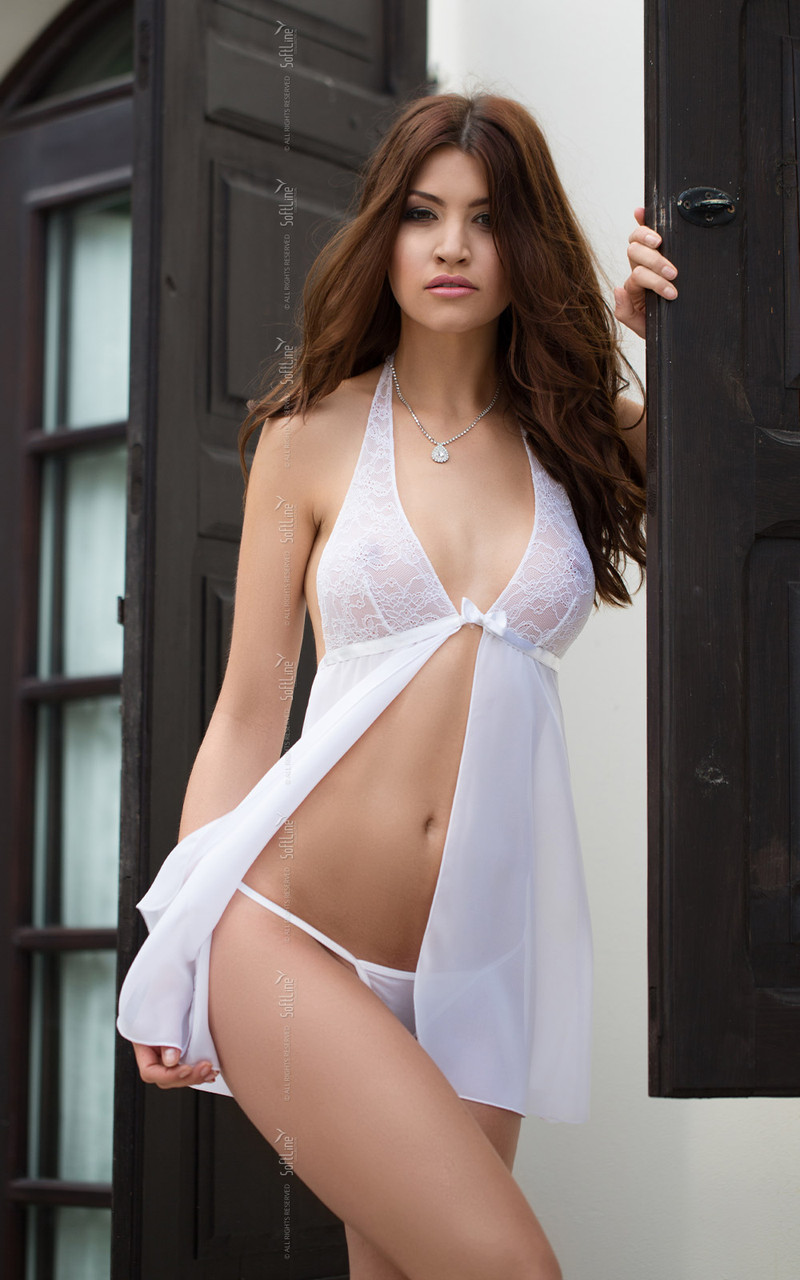 Пеньюар - Irina, білий