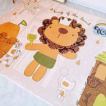 Утепленный ковер-мат (внутри поролон) ТМ-50 Лёва, размер 200х150х1,5 см, фото 2