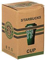 Чашка керамическая кружка Starbucks PY 023 коричневый (4152), фото 3
