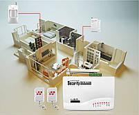 GSM сигнализация для дома с датчиком движения Alarm JYX-G200 (4225), фото 4