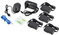 Комплект видеонаблюдения беспроводной DVR KIT CAD Full HD UKC 8004/6673 WiFi на 4 камеры (4299), фото 7