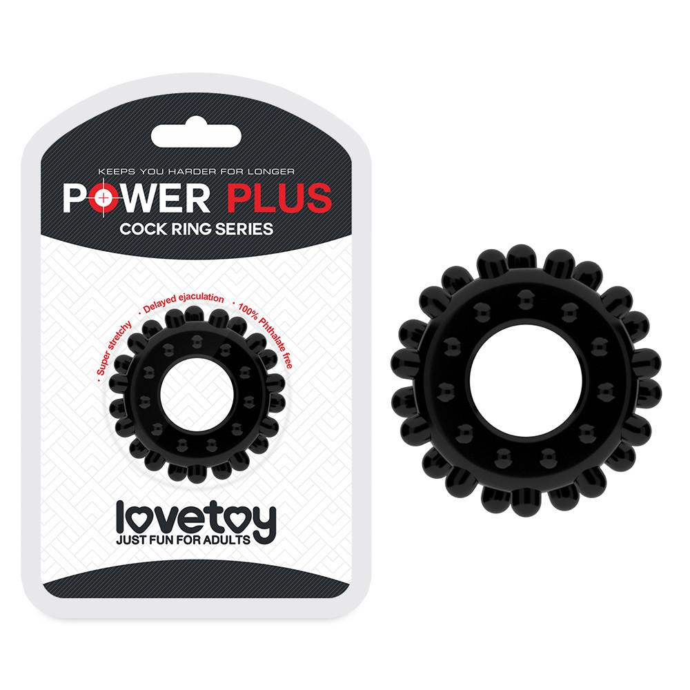 Ерекційне кільце - Power Plus Cockring 2 Black