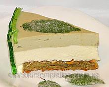 Мятно-фисташковый торт