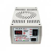 Зарядное устройство Аида 5si для кислотных и гелевых АКБ 4-75 Ач, фото 1