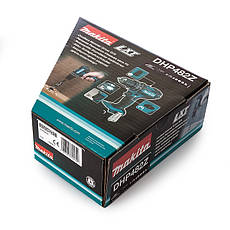 Шуруповерт-дриль акумуляторний ударний Makita LXT DHP482Z, фото 2