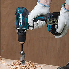 Шуруповерт-дриль акумуляторний ударний Makita LXT DHP482Z, фото 3