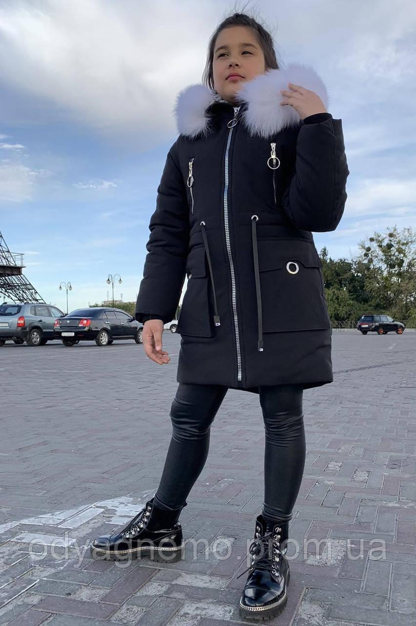 Зимняя курточка для девочек, 34-42 рр. Артикул: MTN21-3