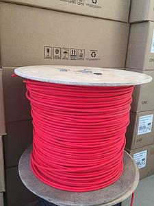 Кабель красный для солнечных батарей 6мм