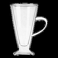 """Стеклянная чашка с двойными стенками """"Айриш"""", 400 мл, , фото 1"""