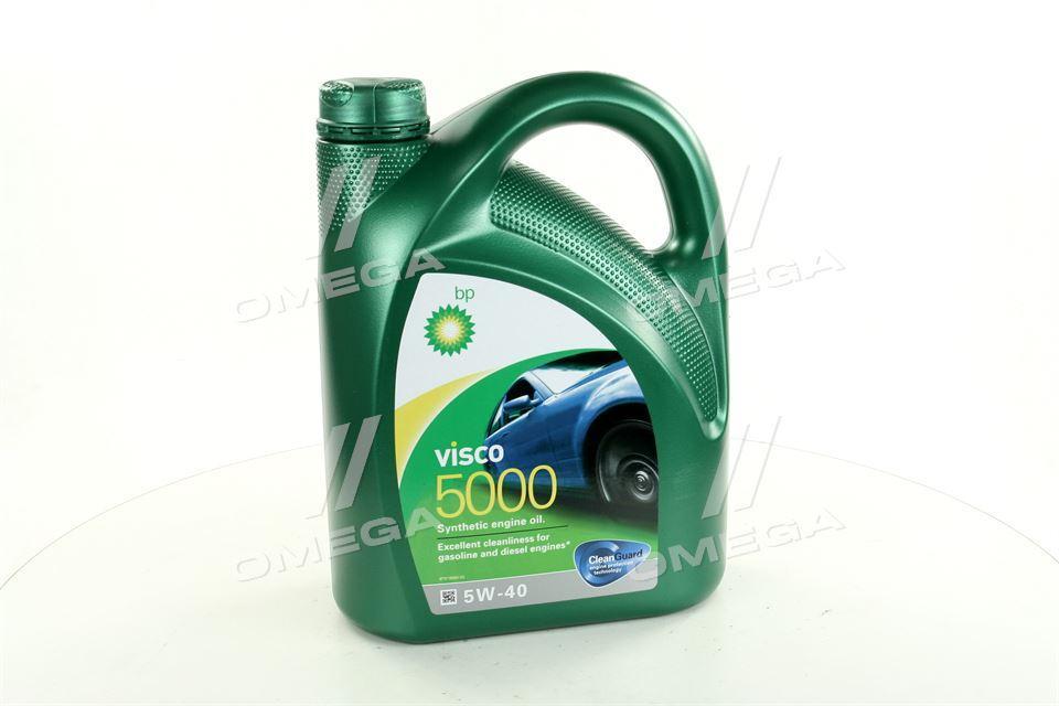 Масло моторное BP Visco 5000 5W-40 API SN/CF (Канистра 4л) (арт. 15806C), rqv1
