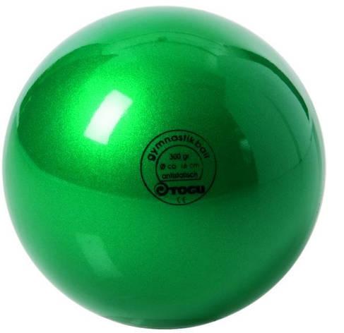 Мяч гимнастический 300гр зеленый Togu 430400-18, фото 2
