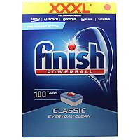 Средство Finish Classic 100 капсул для посудомоечных машин, фото 1