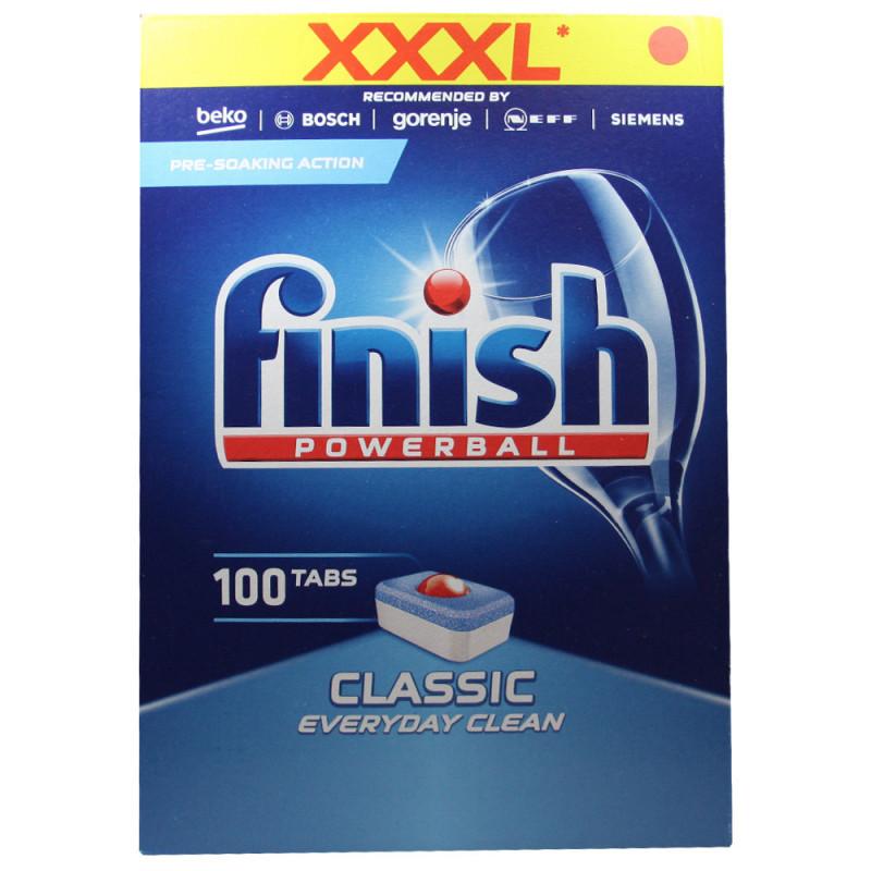 Засіб Finish Classic 100 капсул для посудомийних машин