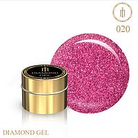Гель для дизайна Diamond Gel Milano №20