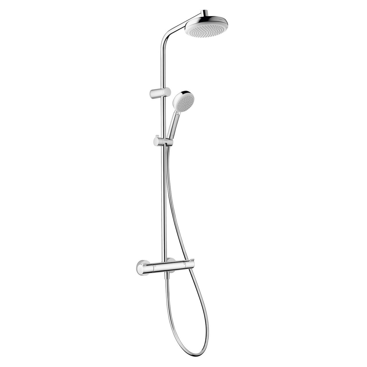 MYCLUB Showerpipe душевая система 180, c термостатом EcoSmart
