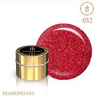 Гель для дизайна Diamond Gel Milano №32