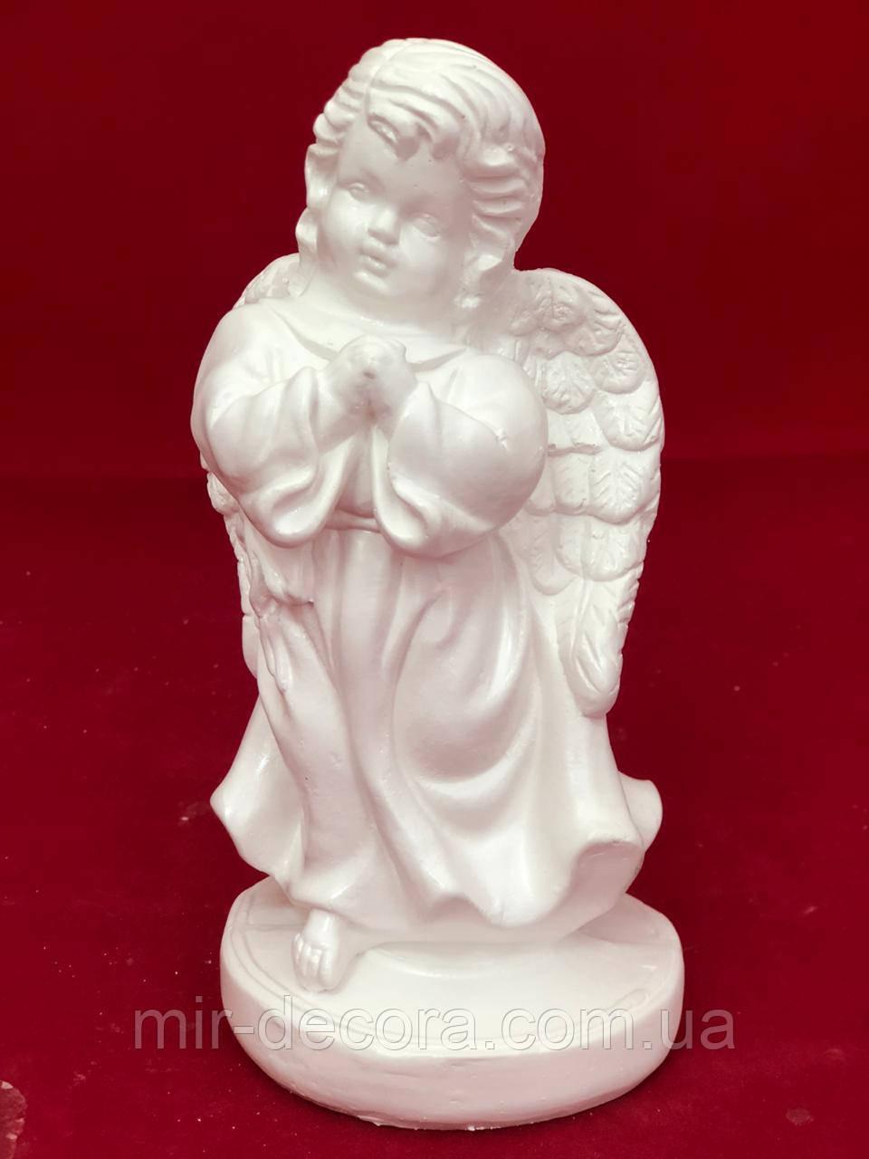 Красива статуетка ангела Ангеліна, білий, 23 см