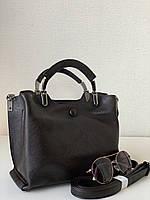 Жіноча стильна сумочка коричневого шоколадного кольору Pretty Woman Одеса 7 км, фото 1