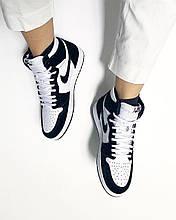 Кроссовки женские Nike Air Jordan PANDA TWIST REVIEW в стиле найк джордан Белые (Реплика ААА+)