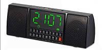 Портативная колонка WS 1515BT Bluetooth с часами, Колонка-Часы