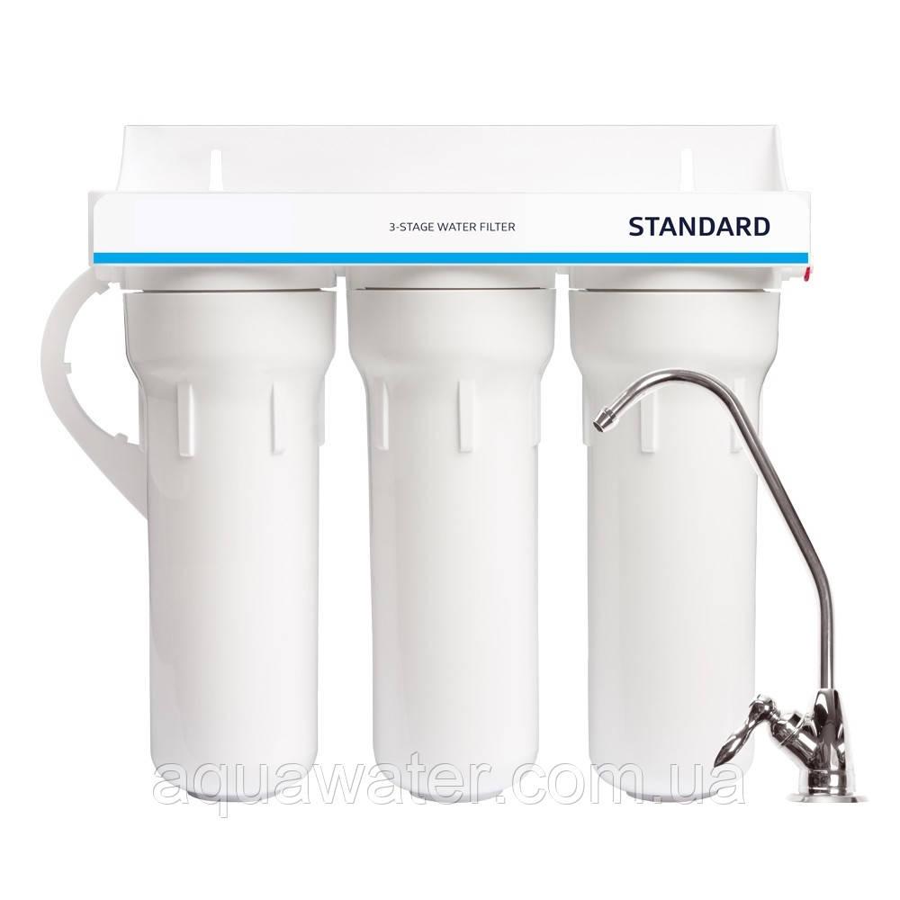 Потрійний фільтр Aqua Standard Water