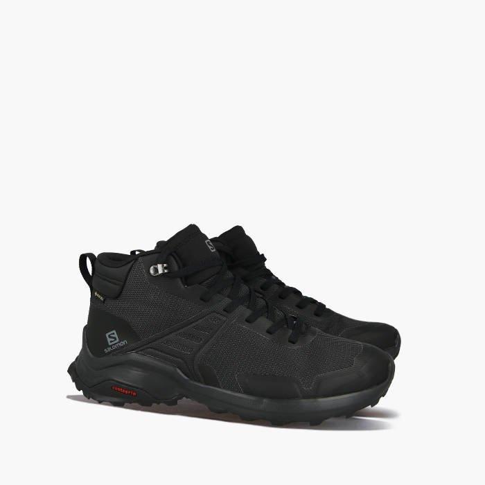 Мужские ботинки Salomon X Raise  GTX (Gore-Tex) (410957) черные