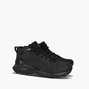 Мужские ботинки Salomon X Raise  GTX (Gore-Tex) (410957) черные, фото 2