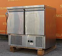 Холодильный стол из нержавеющей стали «Frosty» 90х70х87 см. (Украина), Б/у