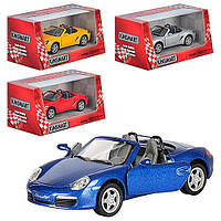 Детская металлическая машина Порш Porsche Boxster