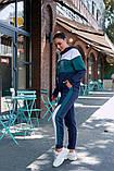 Женский спортивный костюм двойка кофта батник+штаны двухнить размер: 48-50,52-54, фото 4