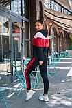 Женский спортивный костюм двойка кофта батник+штаны двухнить размер: 48-50,52-54, фото 8