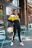 Женский спортивный костюм двойка кофта батник+штаны двухнить размер: 48-50,52-54, фото 10