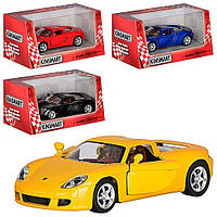 Детская Машина металлическая Порш Porsche Carrera GT