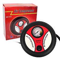 Автомобильный компрессор для быстрой подкачки колес Air Compressor Электрический насос автомобильный 12В