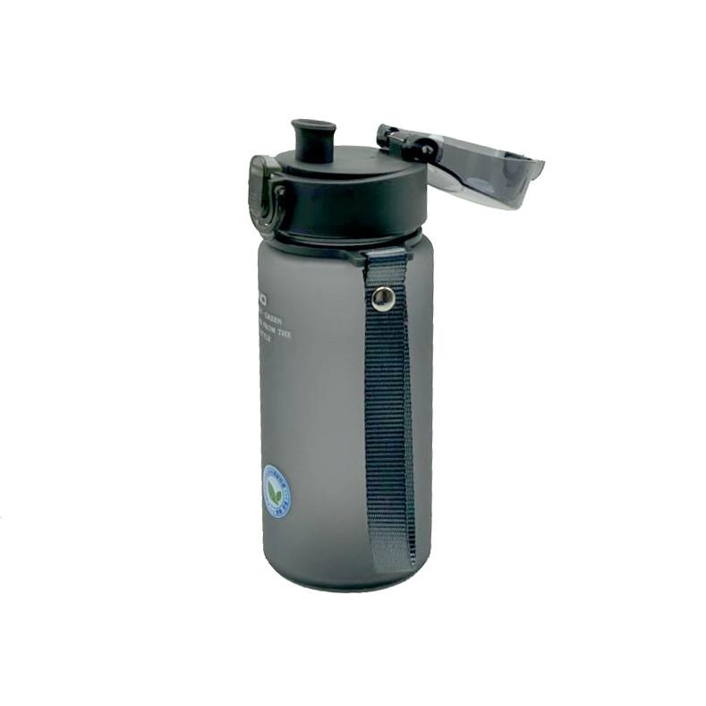 Пляшка для води CASNO 400 мл KXN-1114  Чорна