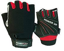 Рукавички для фітнесу PowerPlay 1 568 Чорні L