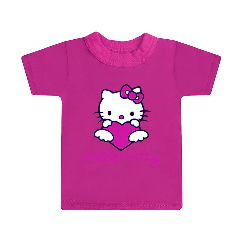 Футболка з малюнком Hello Kitty для дівчаток кулір