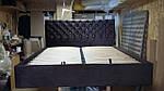 Ліжко Альбіна 2 МК двоспальне 160х200, ортопедична еко шкіра, тканина. високе узголів'я. Під замовлення, фото 3