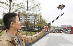 Держатель для телефона на шею 360 градусов вращения гибкий селфи, фото 2
