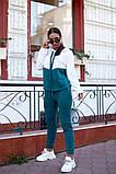 Женский спортивный костюм двойка кофта батник+штаны двухнить размер: 48-50,52-54,56-58, фото 2