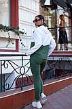 Женский спортивный костюм двойка кофта батник+штаны двухнить размер: 48-50,52-54,56-58, фото 3