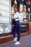 Женский спортивный костюм двойка кофта батник+штаны двухнить размер: 48-50,52-54,56-58, фото 5