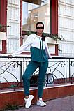 Женский спортивный костюм двойка кофта батник+штаны двухнить размер: 48-50,52-54,56-58, фото 6