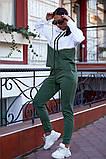 Женский спортивный костюм двойка кофта батник+штаны двухнить размер: 48-50,52-54,56-58, фото 7