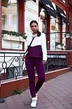 Женский спортивный костюм двойка кофта батник+штаны двухнить размер: 48-50,52-54,56-58, фото 8