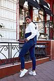 Женский спортивный костюм двойка кофта батник+штаны двухнить размер: 48-50,52-54,56-58, фото 9
