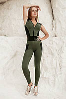Спортивный комбинезон Totalfit FL1-C36 M грязно-зеленый, фото 1